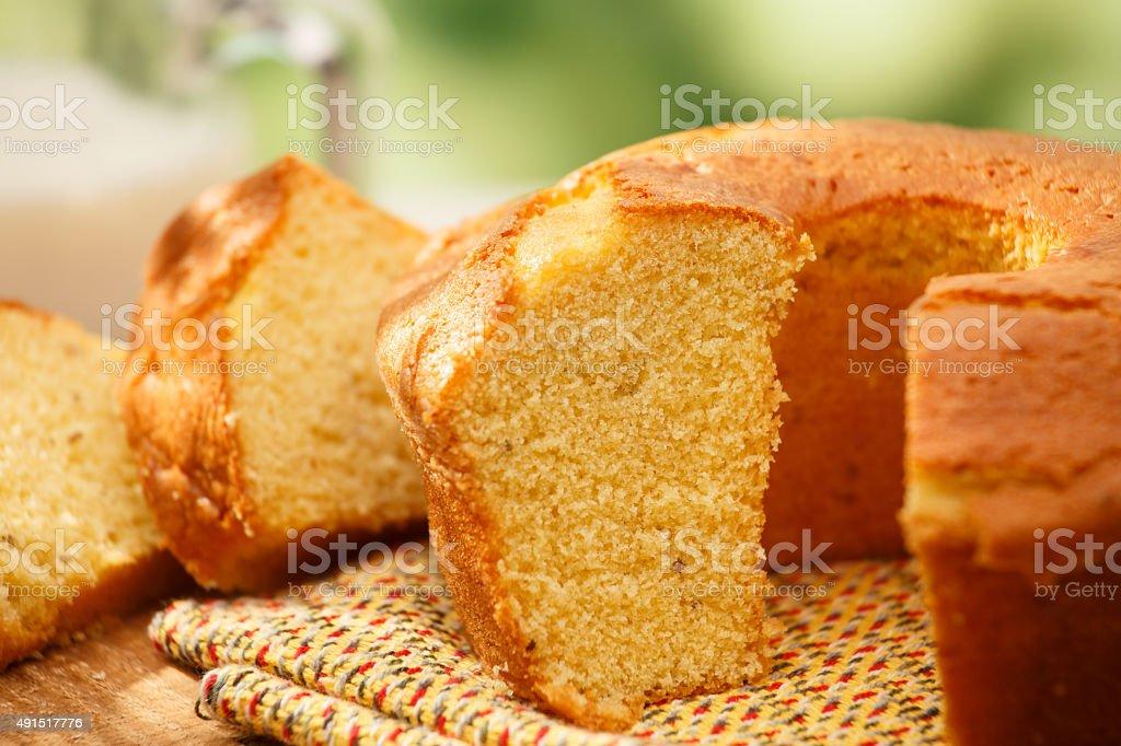 Fuba cake stock photo