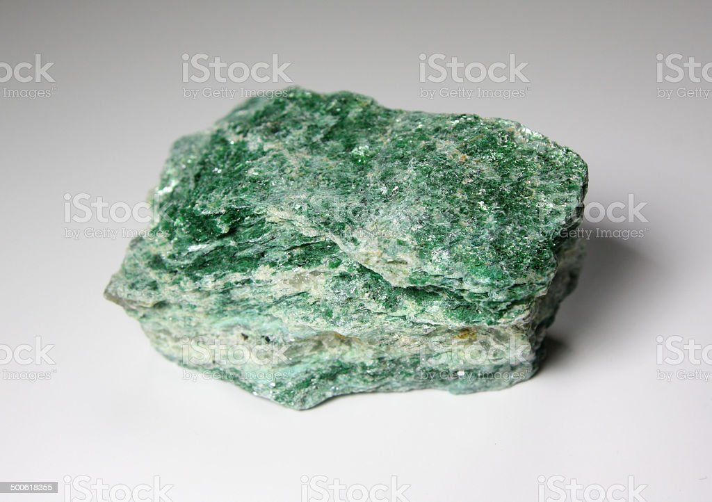 Fuchsite stock photo
