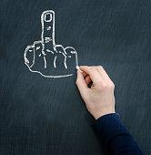 fuck finger