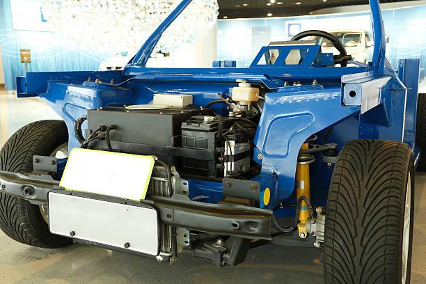 fuel cell auto - pila a idrogeno foto e immagini stock