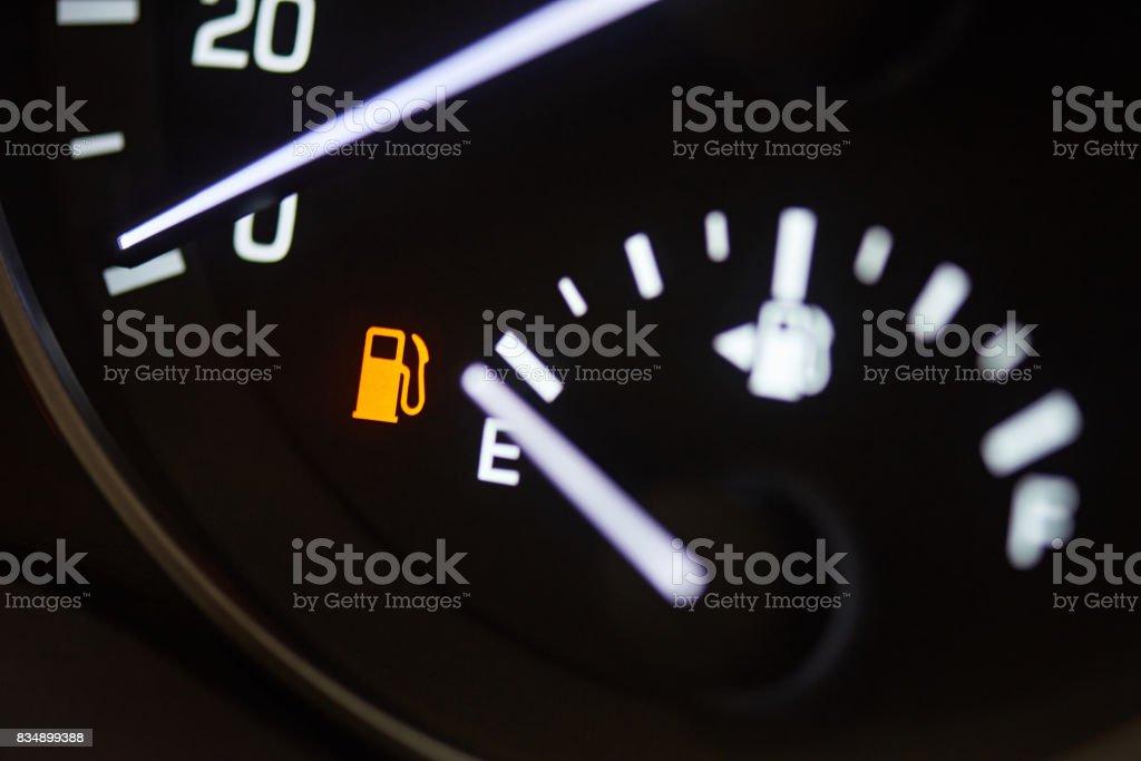 Fuel consumption theme stock photo