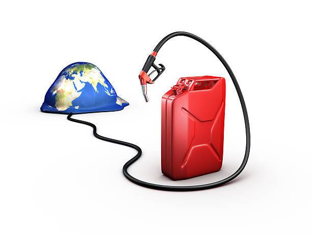 fuel crisis stock photo