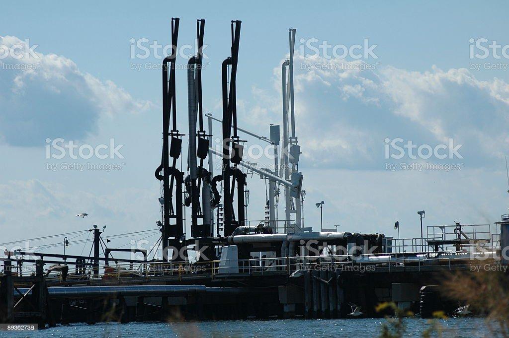 Fuel Depot - Needles of Addiction royalty-free stock photo