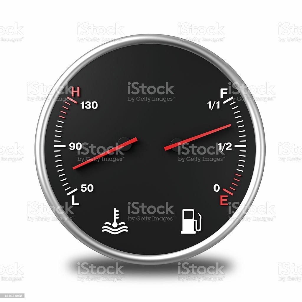 Fuel Gas Gauges stock photo