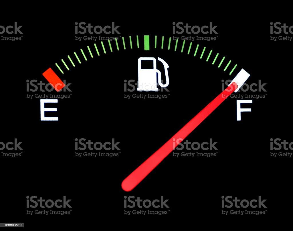 Fuel Gauge stock photo