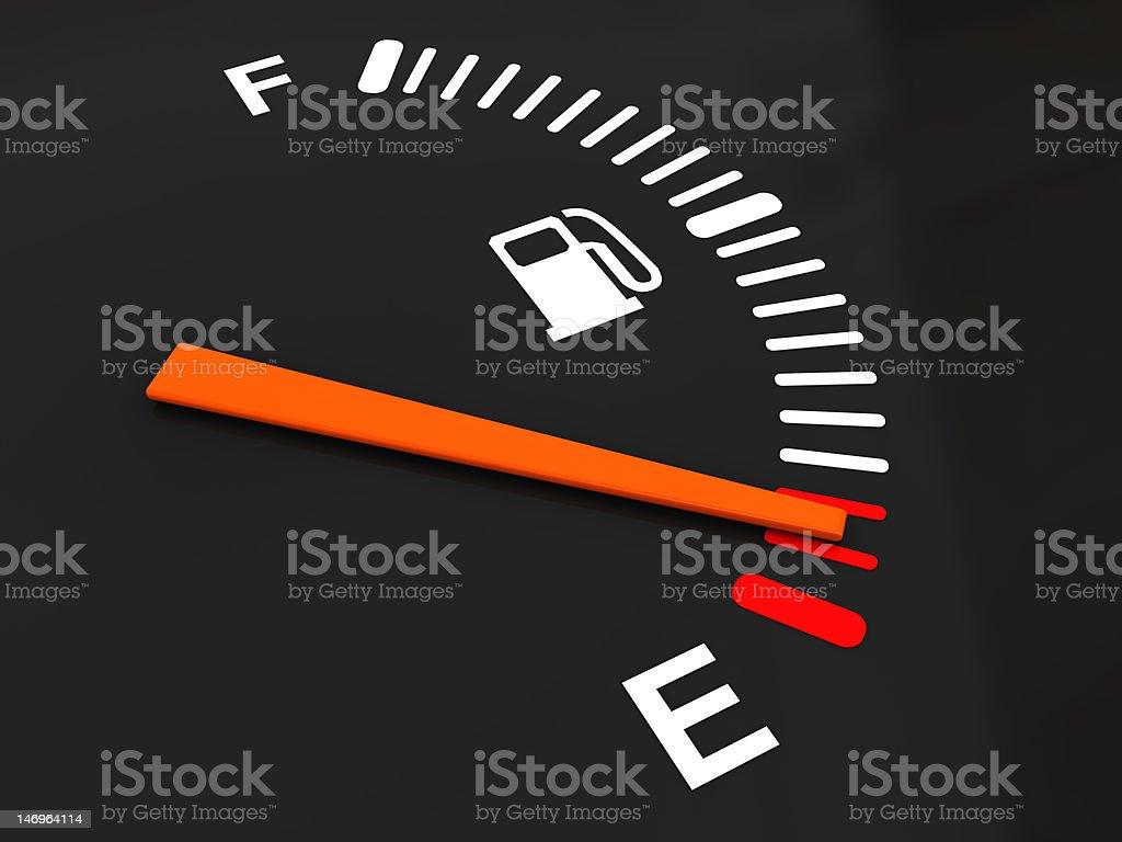 fuel meter stock photo