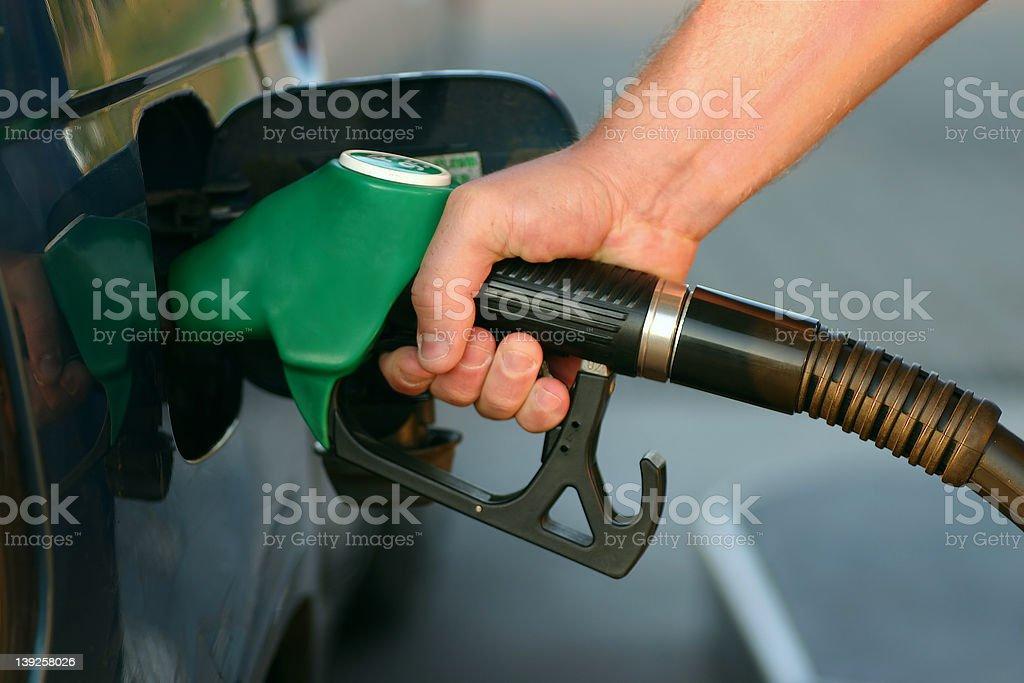 Fuel Pump royalty-free stock photo