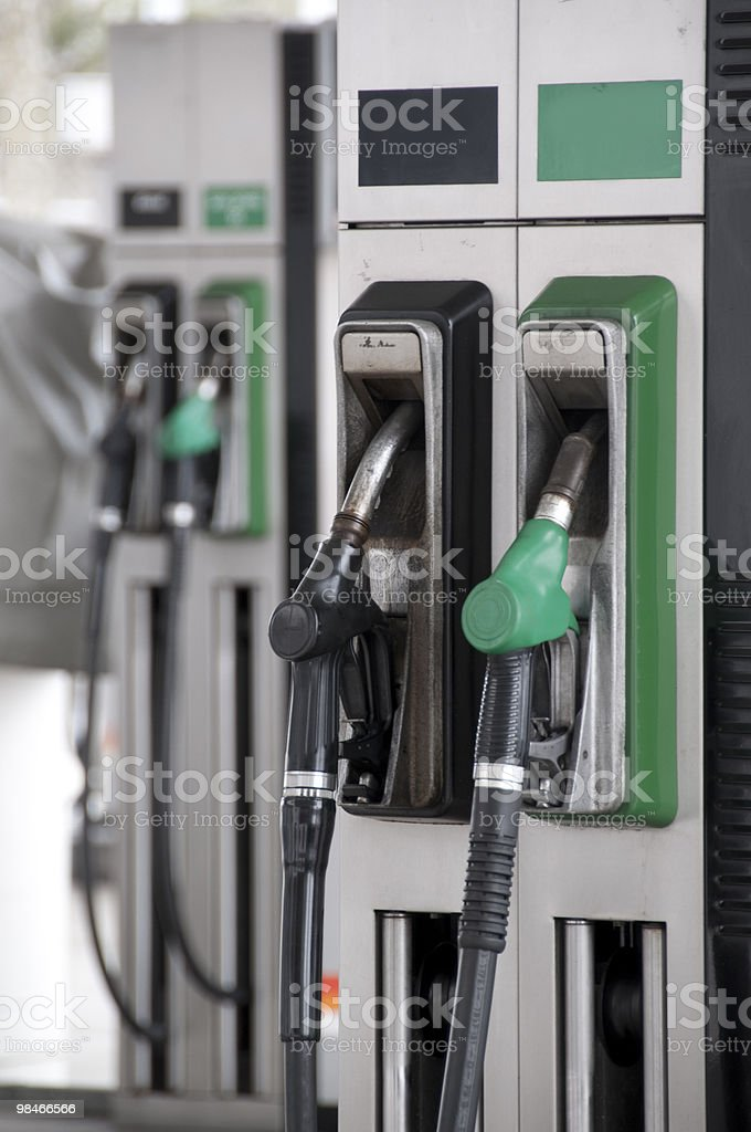 Pompa carburante foto stock royalty-free