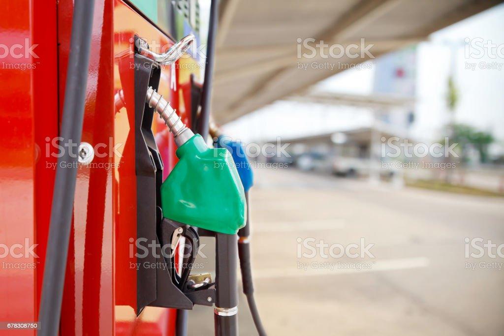 Serviço de bomba de combustível. - foto de acervo