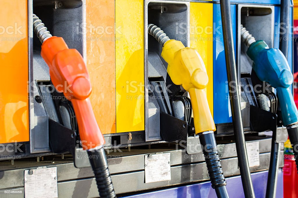 Fuel Station stock photo
