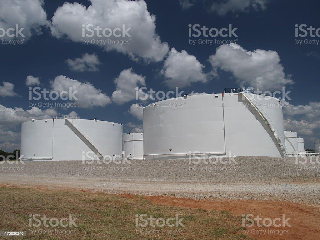 Fuel storage 2 royalty-free stock photo