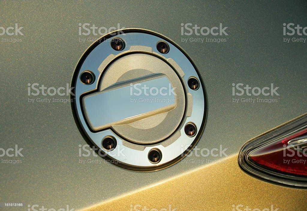 fuel tank lid royalty-free stock photo