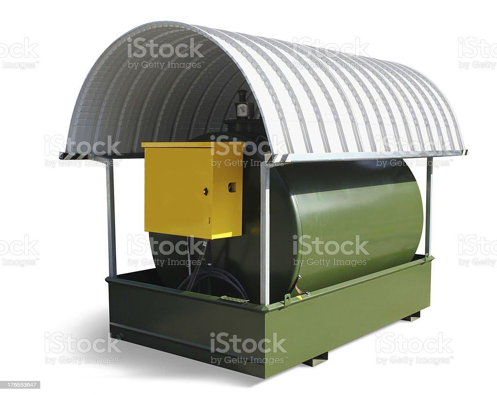 Fuel Tank royalty-free stock photo
