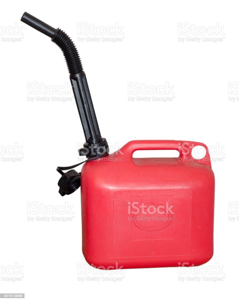 Fuel Tank Plastic stock photo