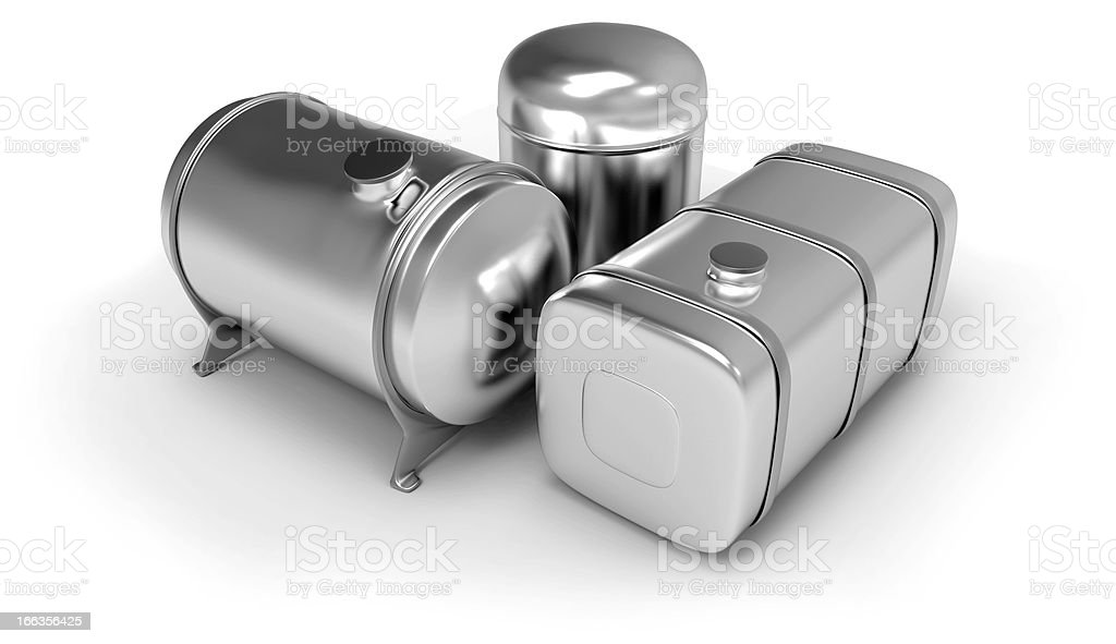 Fuel tanks royalty-free stock photo