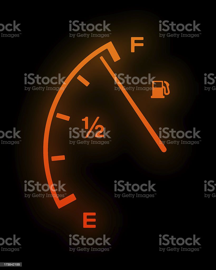 Fuel Up! stock photo