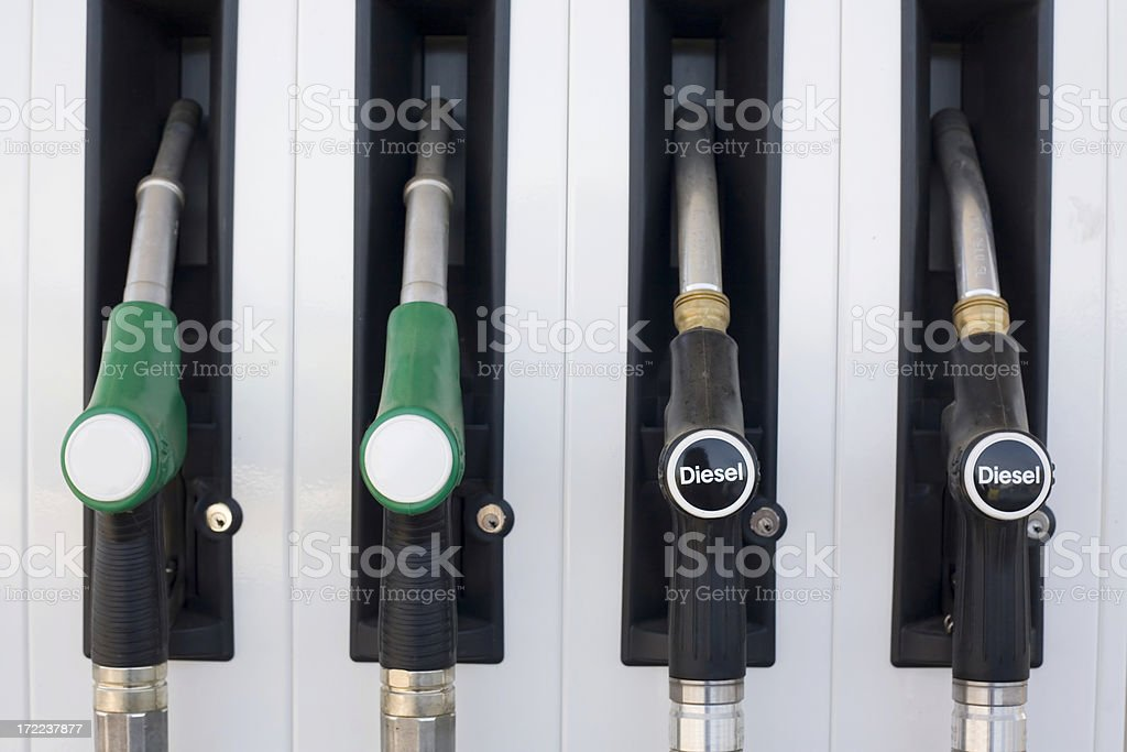 Fueling Up! royalty-free stock photo