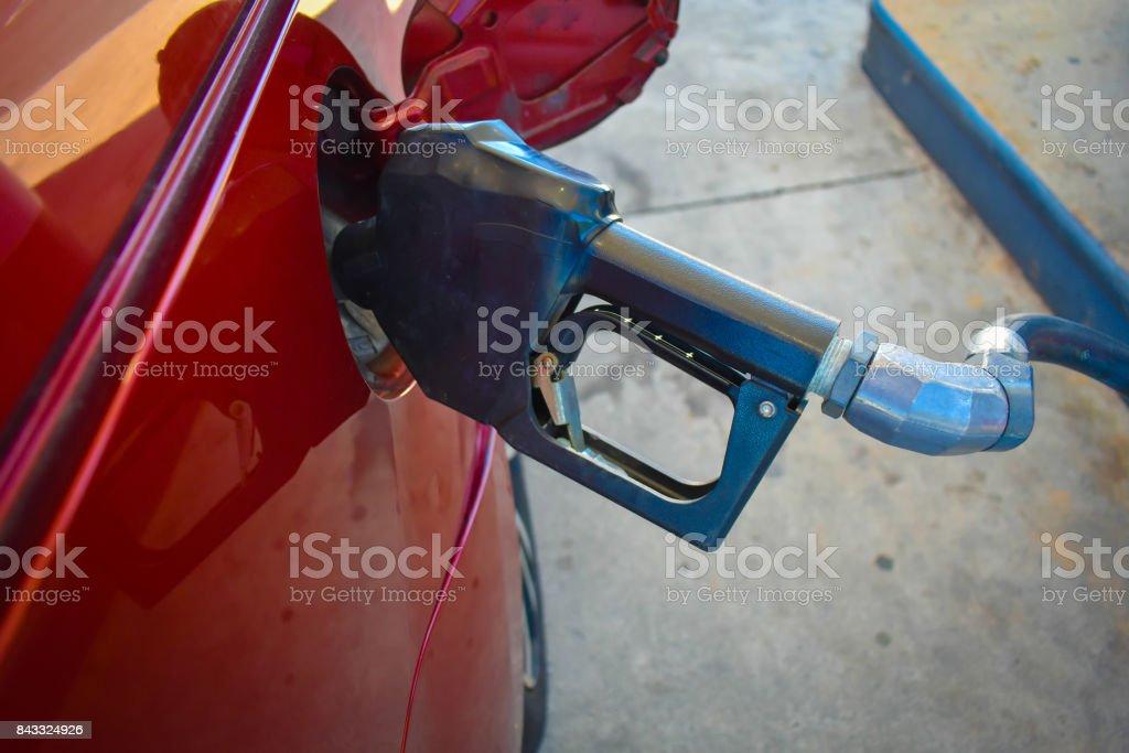 Fueling Up stock photo