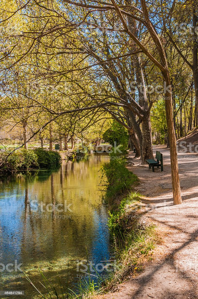 Fuentes del Marques, in Caravaca de la Cruz (Murcia) stock photo
