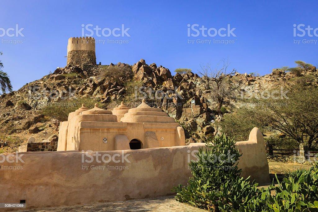 Fujairah, VAE – Al Badiyah Moschee, älteste im Land – Foto