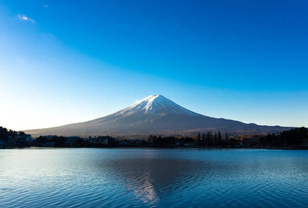 Fuji and the lake Fuji and the lake lake kawaguchi stock pictures, royalty-free photos & images