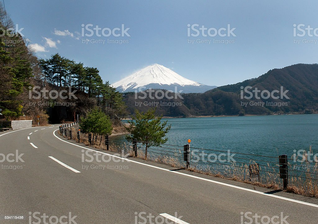 Fuji Mountain stock photo