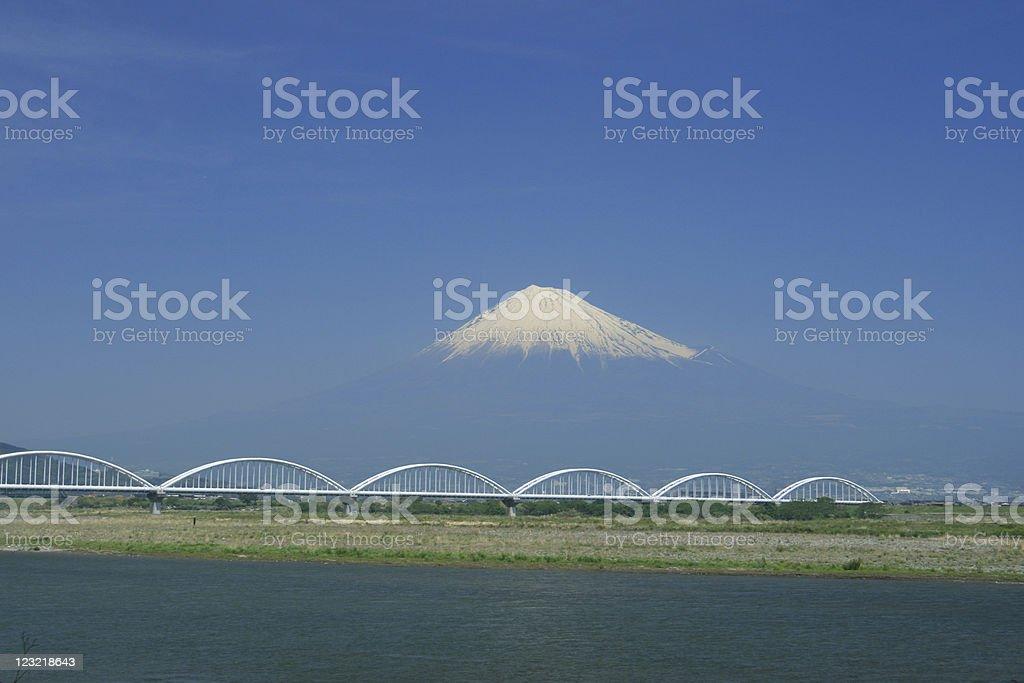 Fuji san stock photo