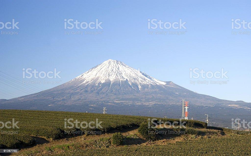 Fuji san royalty-free stock photo