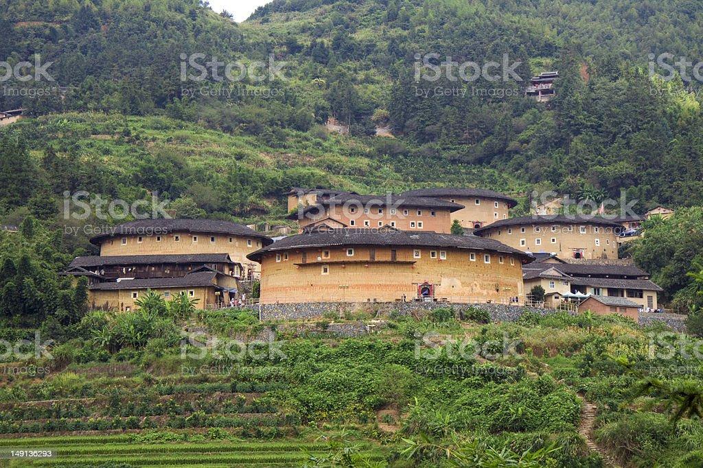 Fujian Tulou royalty-free stock photo