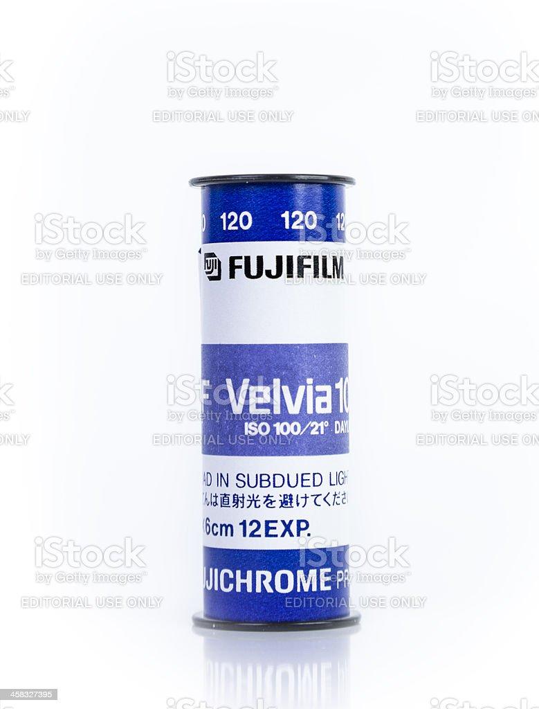 Fujifilm Velvia  Medium Format Film stock photo