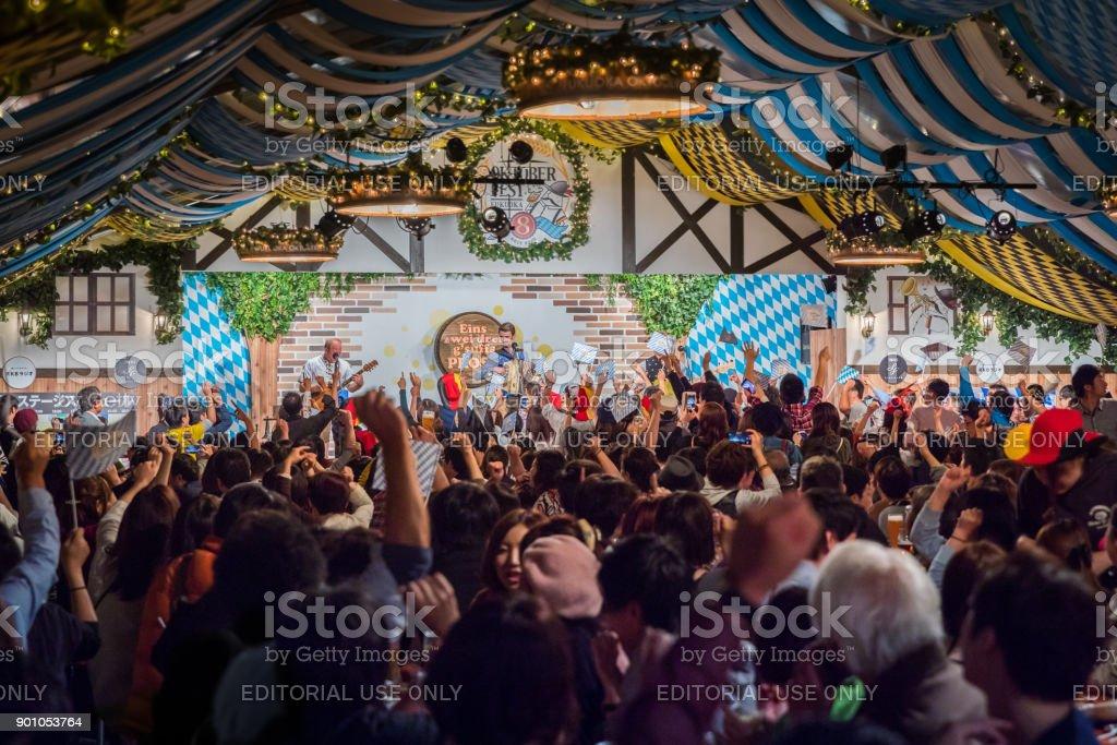 2017 Fukuoka Oktoberfest stock photo