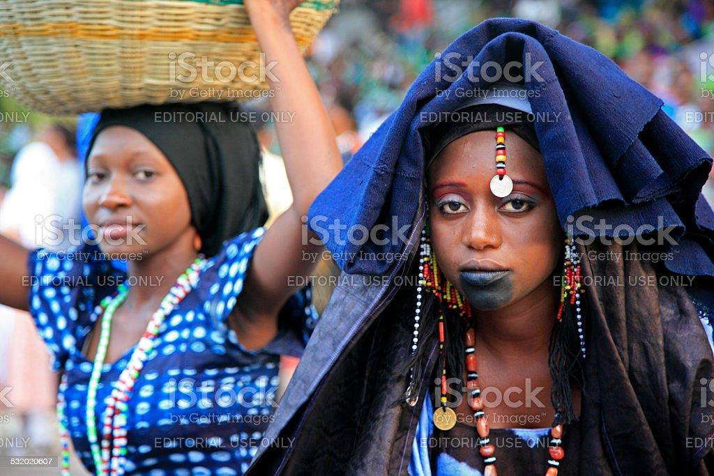 Fulani Women, Gambia stock photo