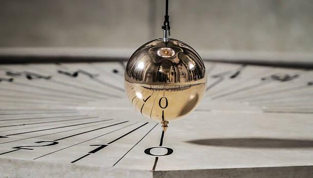 fulcrum at the pantheon in paris - pendulum stock photos and pictures