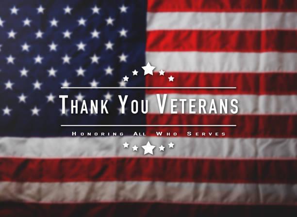 full america united states flag - veterans day стоковые фото и изображения