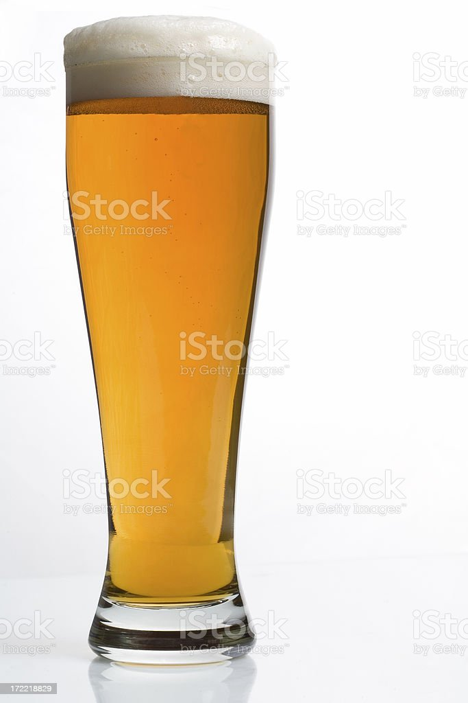 Full Beer royalty-free stock photo