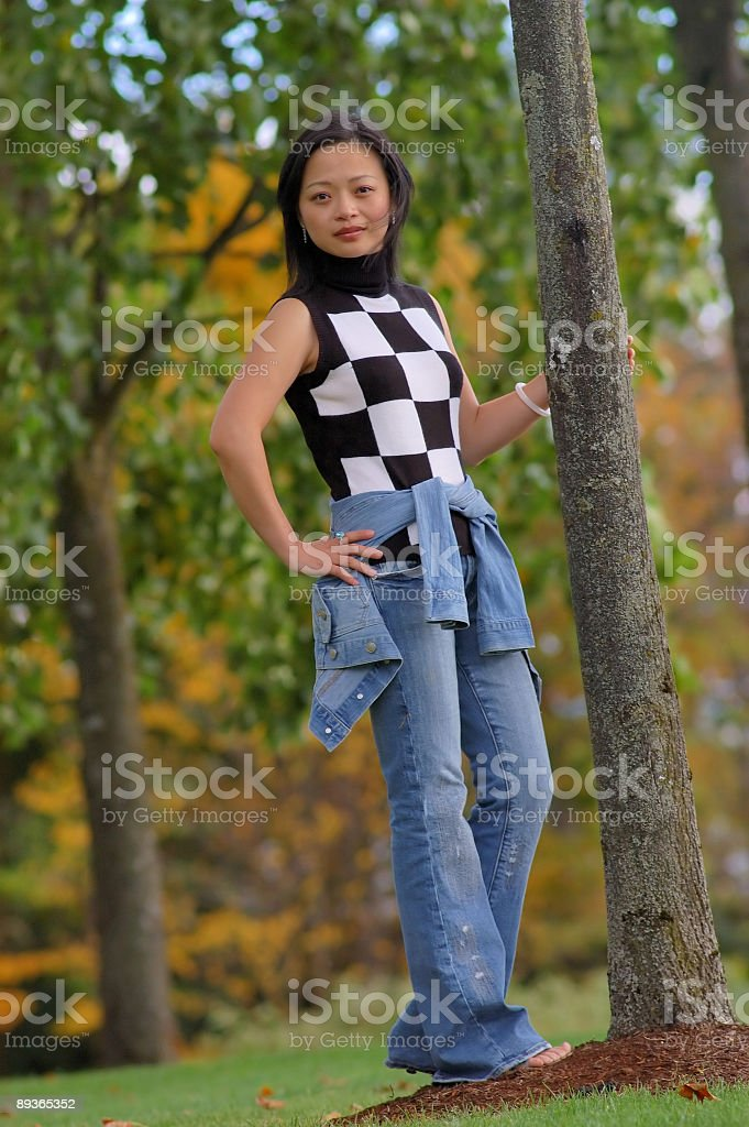 full body portrait royalty-free stock photo
