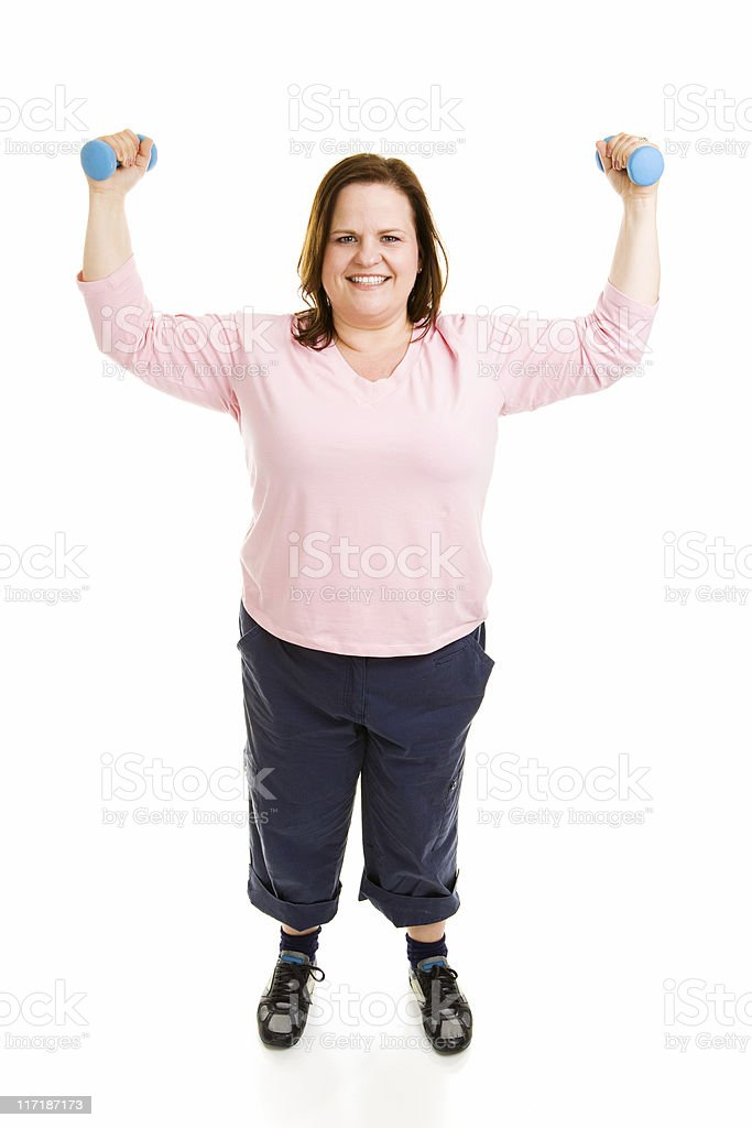 Full Body Workout royalty-free stock photo
