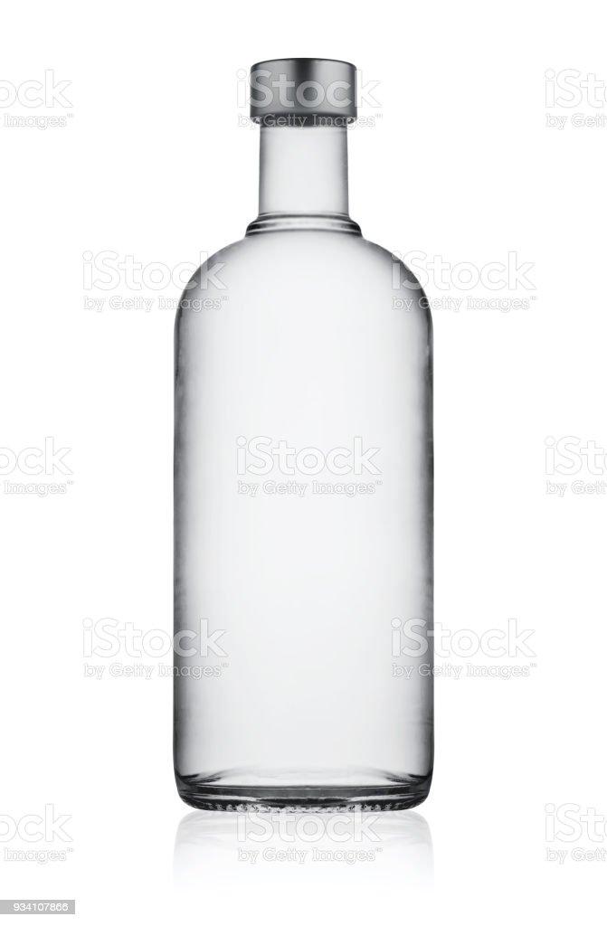 Entièrement fermé Bouteille de vodka - Photo