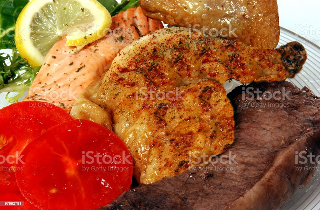 Full Course Meal royalty-free stock photo