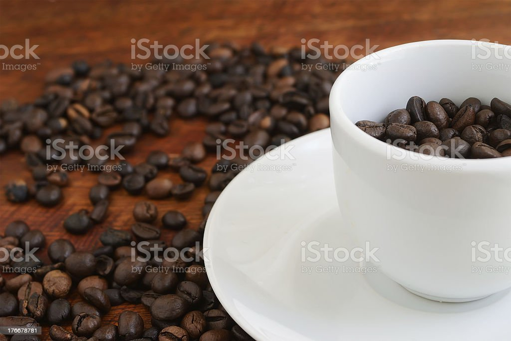 full cup royalty-free stock photo