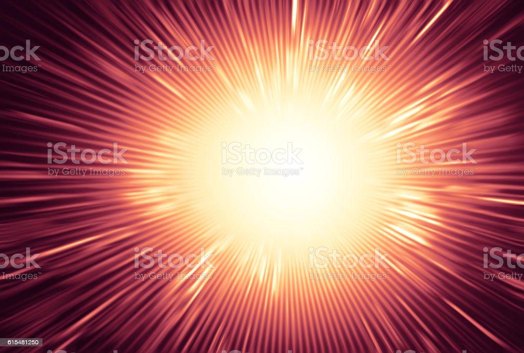 Full explosion background stock photo