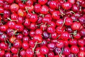 farmer's market cherries