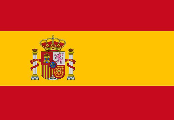 Full frame flag of Spain flag
