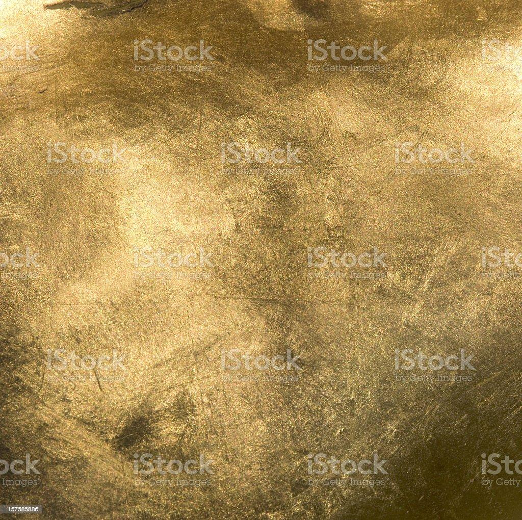 Full Frame Gold Close Up