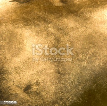 istock Full Frame Gold Close Up 157585886