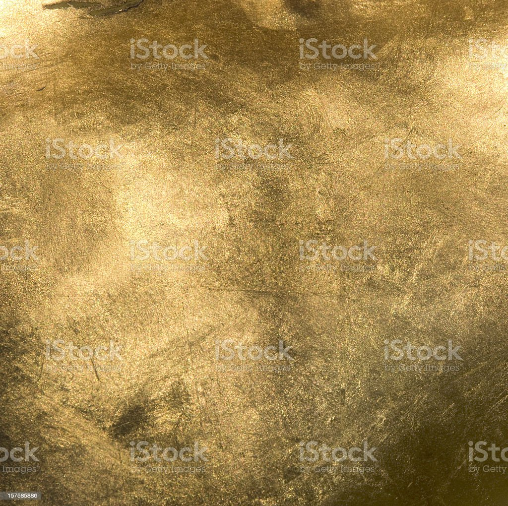 Full Frame Gold Close Up stock photo