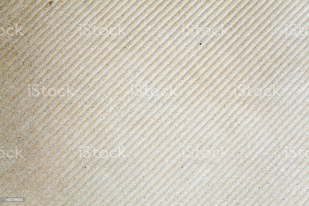 XXXL Full Frame Grooved Sandstone Wall royalty-free stock photo