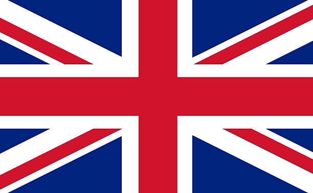 Encuadre completo imagen de Inglaterra bandera - foto de stock
