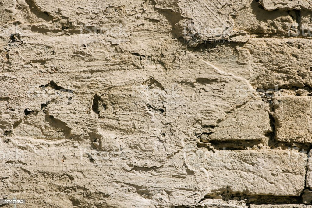 Full Frame Image Of Putty Brick Wall Background Stock Photo More