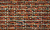 High resolution seamless texture of decorative clinker brick for 3d models, background, interior or exterior design in urban, loft of industrial style